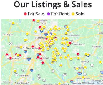 listings and sales